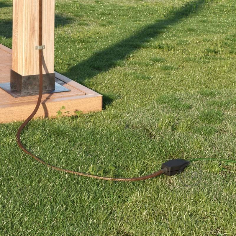 Verteilerdose für Ketten mit Adaptern für runde und flache Kabel