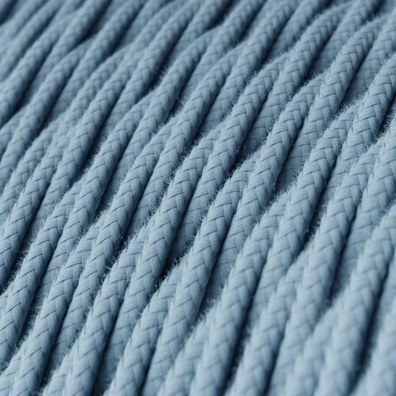 Textilkabel geflochten, Ocean Baumwolle, TC53