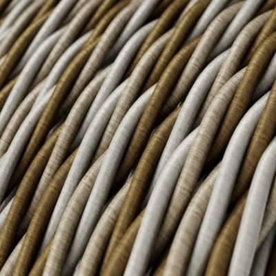 Textilkabel geflochten, Windsor mit Seideneffekt, TG01