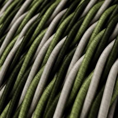 Textilkabel geflochten, Cambridge mit Seideneffekt, TG02