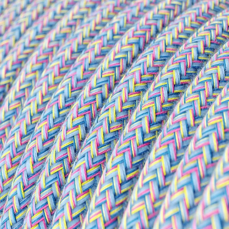 Textilkabel rund, Lollipop Baumwolle, RX09