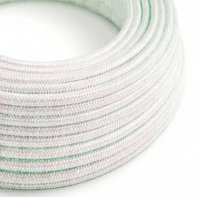 Textilkabel rund, Unicorn glitzer Seideneffekt, RL00