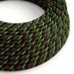 Rundes, Vertigo-Textilkabel mit HD Effekt in Mr Smith-Optik ERM62