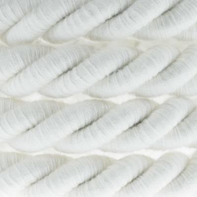 Elektrisches Tauseil XL 3x0,75 aus grober Baumwolle. Durchmesser 16 mm