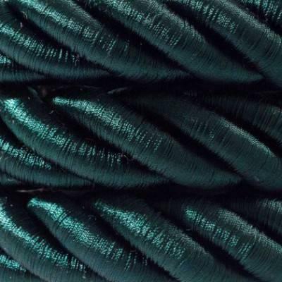 Elektrisches Tauseil 2XL 3x0,75 grün Glanz. Durchmesser 24 mm