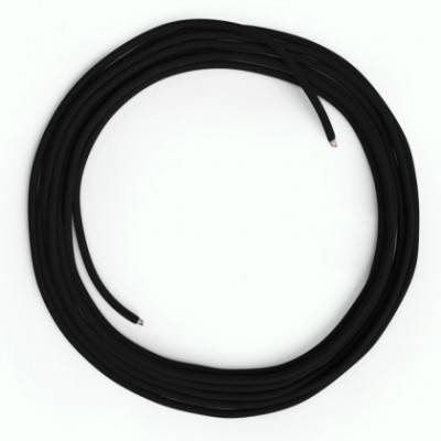 LAN-Kabel - Ethernet Cat 5e ohne RJ45-Anschlüsse - RM04 Seideneffekt Schwarz