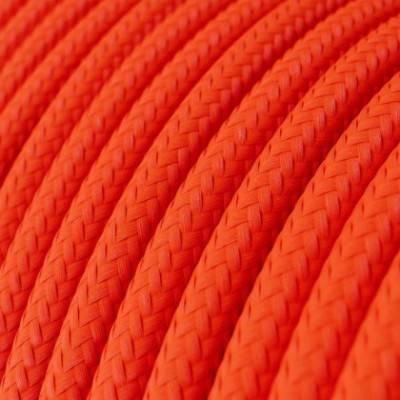 LAN-Kabel - Ethernet Cat 5e ohne RJ45-Anschlüsse - RF15 Seideneffekt Fluo Orange