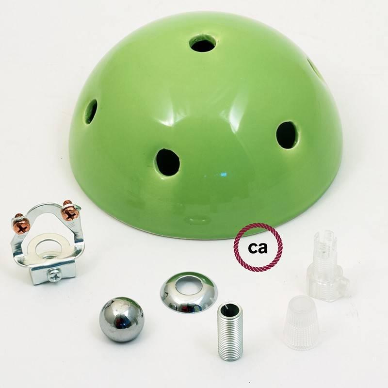 7-Loch-Lampenbaldachin Kit aus Keramik