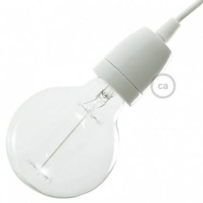 E27-Lampenfassungs-Kit aus Porzellan