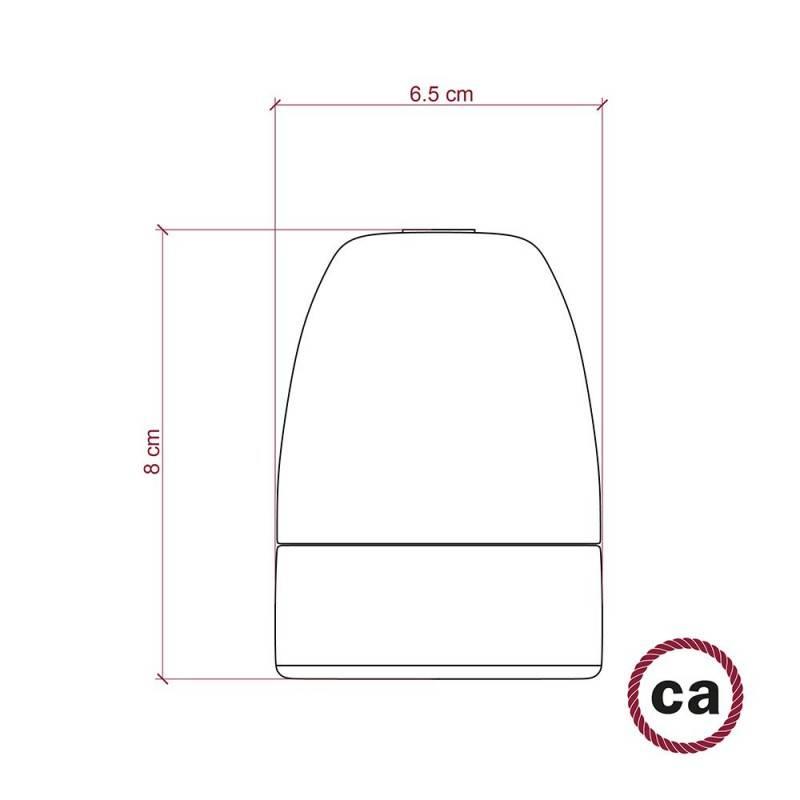 E40-Lampenfassungs-Kit aus Porzellan