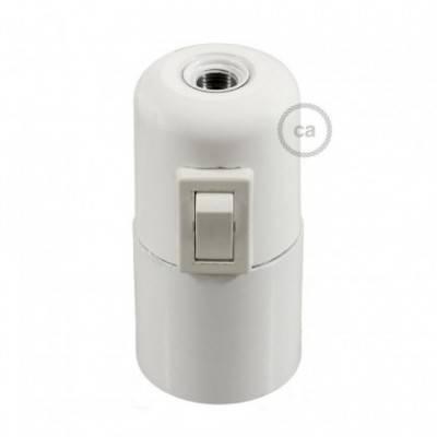 E27-Lampenfassungs-Kit aus Bakelit mit Kippschalter