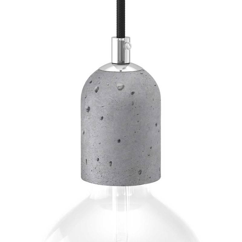 E27-Lampenfassungs-Kit aus Zement