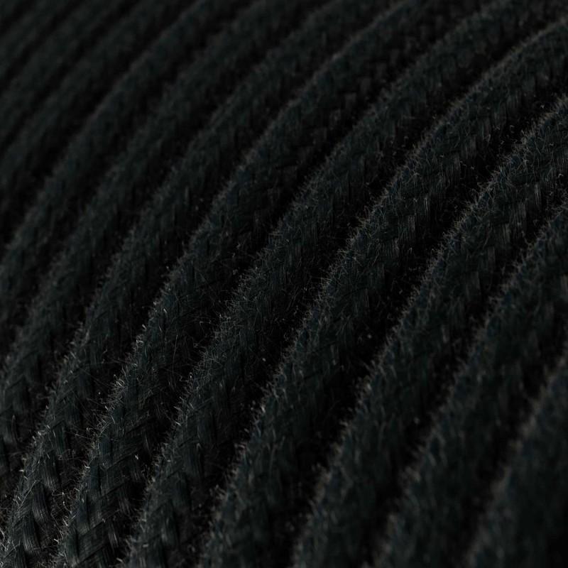 Pendelleuchte inklusive Textilkabel, Harbour Lampenschirm und Metall-Zubehör - Made in Italy