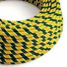 Rundes, Vertigo-Textilkabel mit HD-Effekt in Springbock-Optik aus Stoff, ERM69