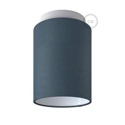 Fermaluce Color mit zylindrischem Lampenschirm, Wand- und Deckenmontage