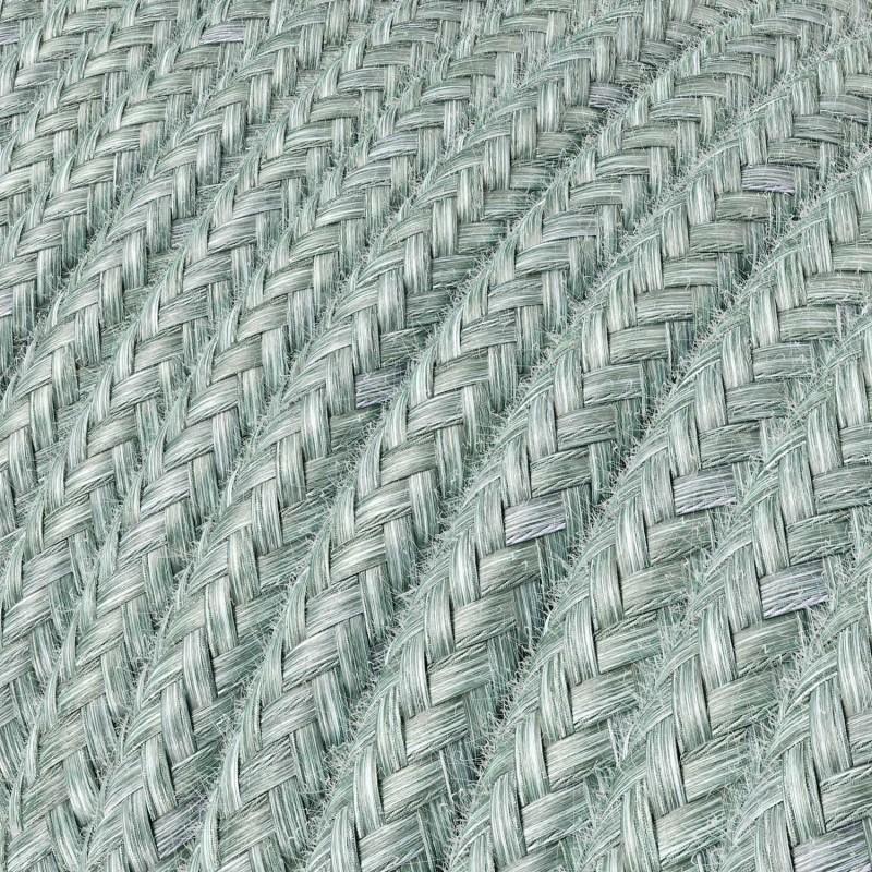 Spider - Pendelleuchte mit Mehrfachaufhängung mit 3 Ausgängen Made in Italy, komplett mit Textilkabel und Metall-Zubehör
