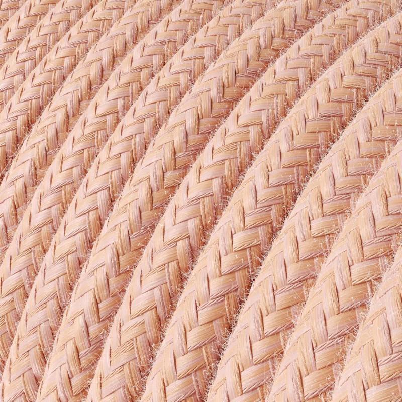 Spider - Pendelleuchte mit Mehrfachaufhängung mit 4 Ausgängen Made in Italy, komplett mit Textilkabel und Metall-Zubehör