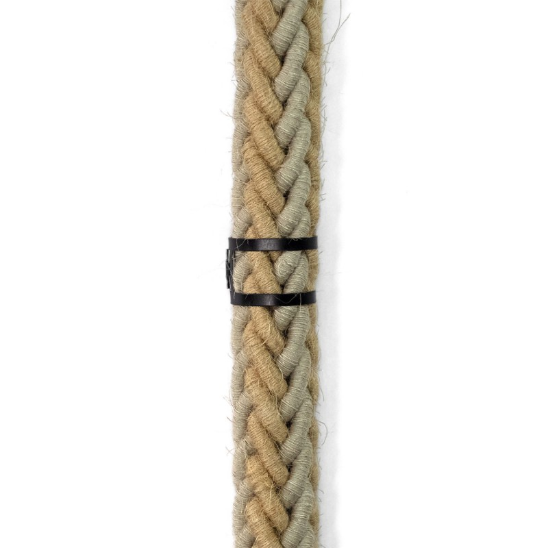 Verstellbare Kabelklemme aus Metall für Tauseile mit 24 mm Durchmesser