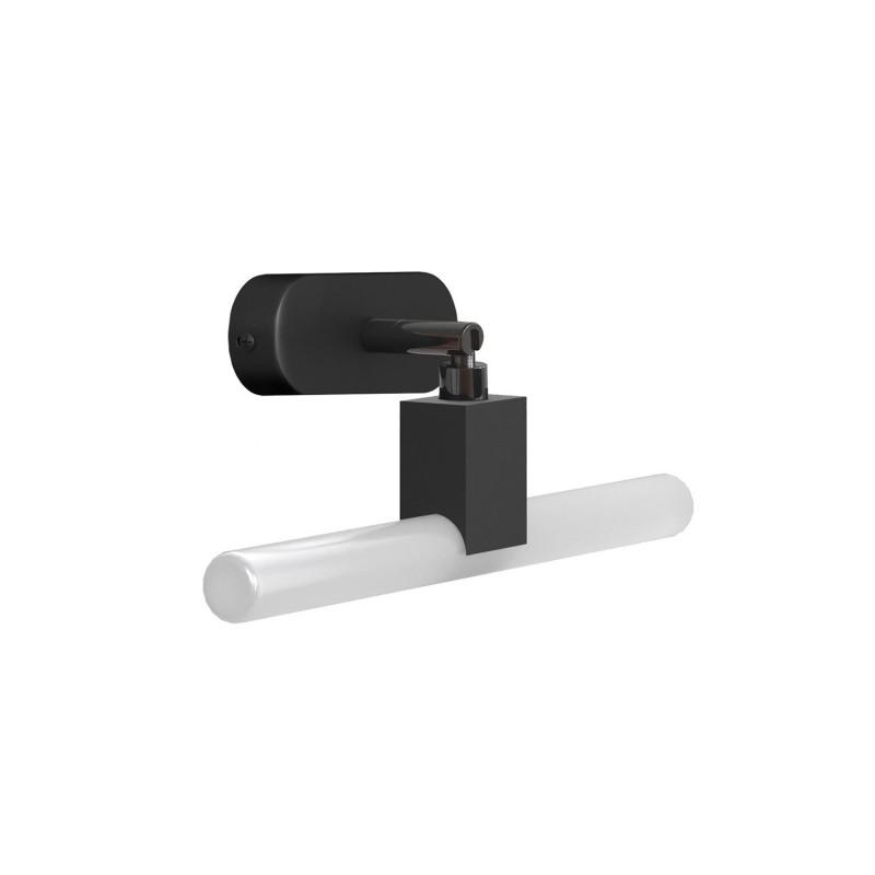 Fermaluce S14 System, schwenkbare Wandlampe mit S14d-Fassung und ovaler Holzlampenbaldachin
