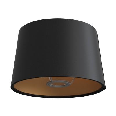 Athena Lampenschirm mit E27 Fassung für Tischleuchten - Made in Italy