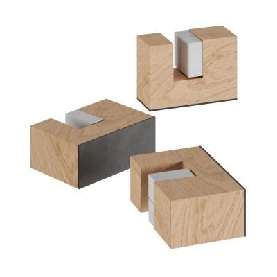 Holzfüßchen Kit, Abstellhilfe für Tischleuchten