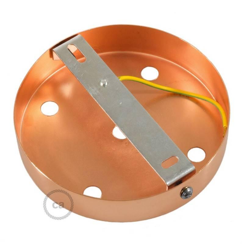 Zylindrischer 5-Loch-Lampenbaldachin Kit aus Metall