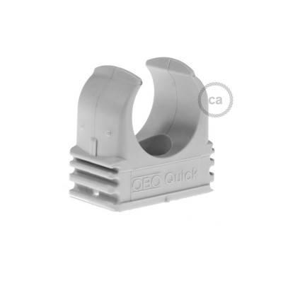 Kunststoff-Befestigungsclip, Durchmesser 20 mm, für Creative-Tube