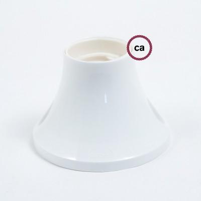 Thermoplastische 90° Lampenfassung für Wand- oder Deckenmontage