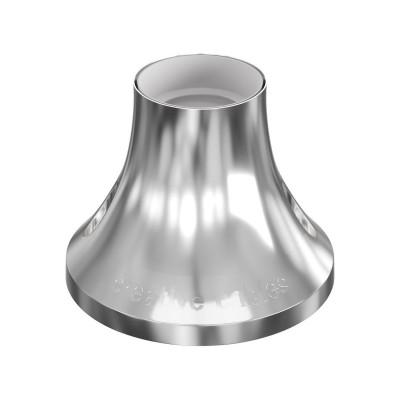 Metallisierte E27 Lampenfassung für Wand- oder Deckenmontage
