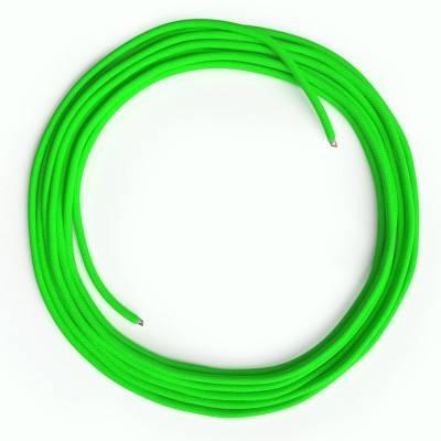 LAN-Kabel - Ethernet Cat 5e ohne RJ45-Anschlüsse - RF06 Seideneffekt Fluo Grün