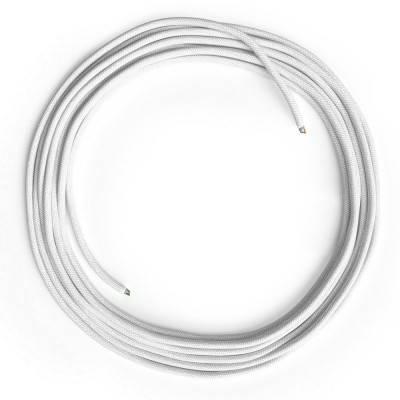 LAN-Kabel - Ethernet Cat 5e ohne RJ45-Anschlüsse - RC01 Baumwolle Weiß