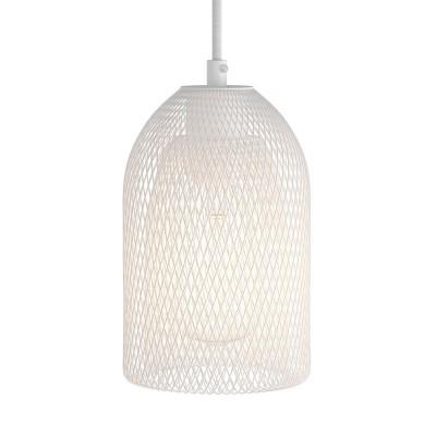 Lampenschirmkäfig Ghostbell aus Metall mit E27-Fassung