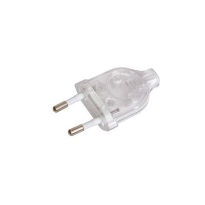 Stecker 2-polig 2,5 A, transparent