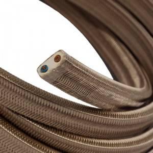 Elektrisches Kabel für Lichterketten, überzogen mit Cipria Textilgewebe Seideneffekt CM27