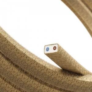 Elektrisches Kabel für Lichterketten, überzogen mit Jutefaser CN06