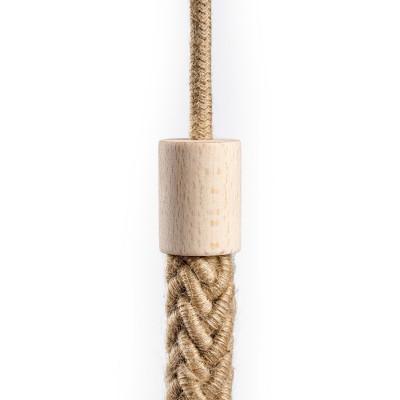 Kabelkanal aus Holz für 2XL Tauseil