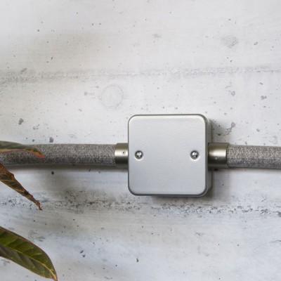 Anschlussdose aus Metall mit fünf Ausgängen für Creative-Tube