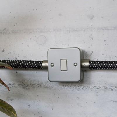 Metalldose mit Schalter für Creative-Tube