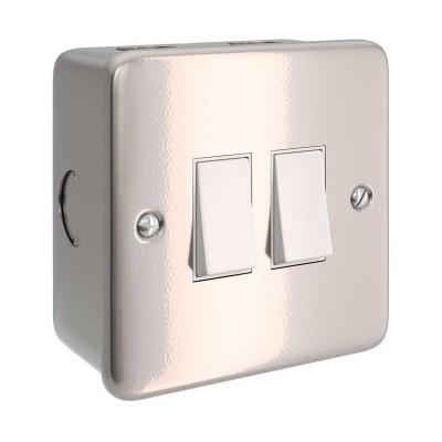 Metalldose mit Doppel-Schalter für Creative-Tube