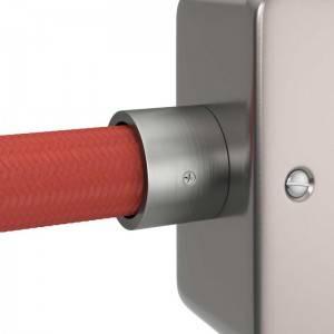 Kabelkanal aus Metall mit Gewinde M20 für Creative-Tube, inklusive Zubehör