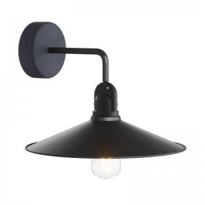 Fermaluce EIVA mit L-förmiger Verlängerung, Swing Lampenschirm und wasserfesten IP65-Lampenfassung