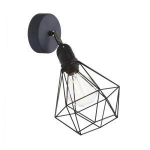 Fermaluce EIVA mit Diamond Lampenschirm, Schwenkgelenk und wasserfesten IP65-Lampenfassung