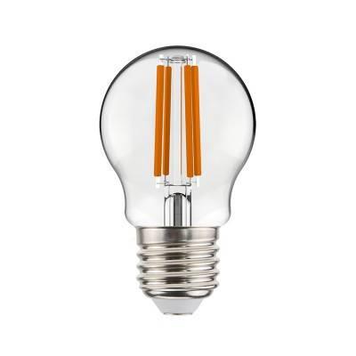 Kugelförmige Filament LED Glühbirne 4W E27 klar