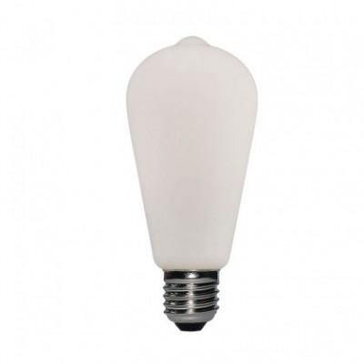 LED-Glühbirne Porzellan ST64 6W E27 Dimmbar 2700K