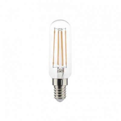 Röhrenförmige LED Glühbirne 4,5W E14 klar dimmbar
