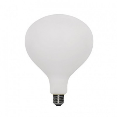 LED Glühlampe Itaca mit Porzellan-Effekt 6W E27, dimmbar 2700K