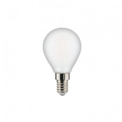 Kugelförmige Filament Led Glühlampe, Milky 6W E14 2700K