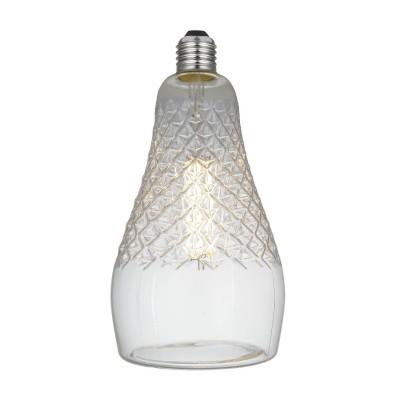 LED Glühbirne Iris Crystal-Linie klar 6W E27 dimmbar 2700K