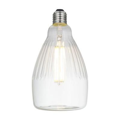 LED Glühbirne Rea Crystal-Linie klar 6W E27 dimmbar 2700K