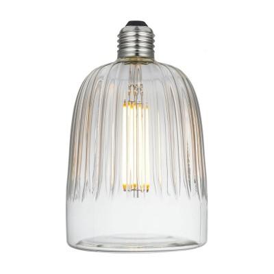 LED Glühbirne Tiche Crystal-Linie klar 6W E27 dimmbar 2700K